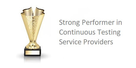 Strong Performer in Continuous Testing Service Providers