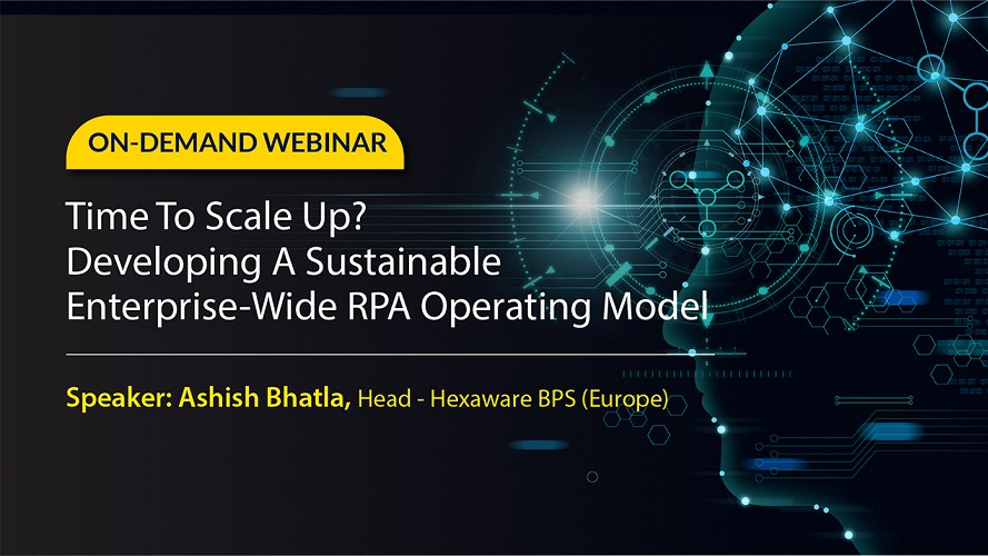 Develop a Sustainable Enterprise-wide RPA Operating Model