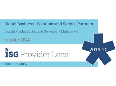 Hexaware Named Leader, Digital Product Lifecycle Services – Midmarket in the ISG Provider Lens™ Digital Business – Solutions and Service Providers 2019-2020 Quadrant Study