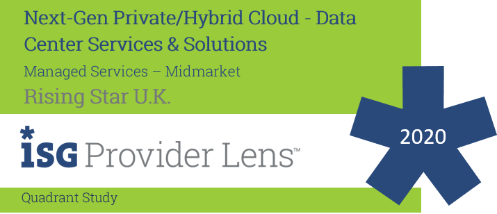 Hexaware Named UK Rising Star in Managed Services – Midmarket in the ISG Provider Lens ™ Next-Gen Private/Hybrid Cloud - Data Center Services & Solutions 2020 UK Quadrant Study