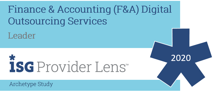 Hexaware Named Leader, Automation Implementers Archetype, in the ISG Provider Lens™ Financial and Accounting Outsourcing 2020 Archetype Study