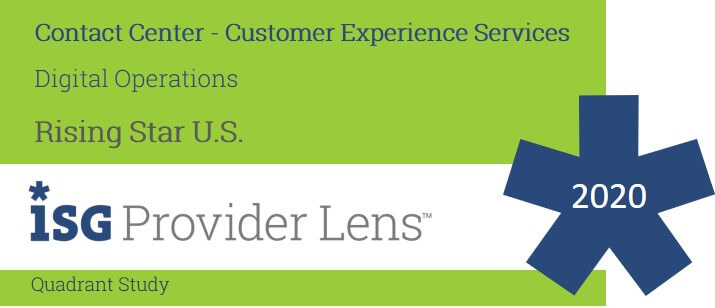 Hexaware named US Rising Star, Digital Operations in the ISG Provider Lens™ Contact Center- Customer Experience Services study