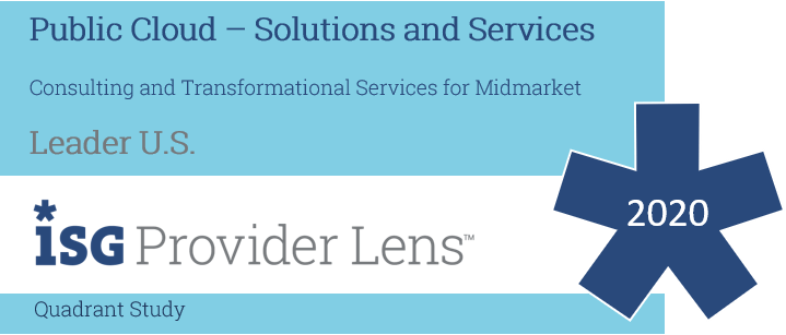 Hexaware Named Leader in Consulting & Transformational Services – Midmarket in the ISG Provider Lens™ Public Cloud – Solutions and Service Partners 2020 U.S. Quadrant Report.