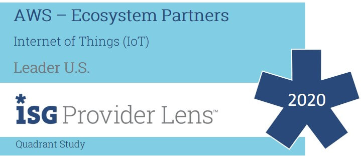 Hexaware Named a Leader among IoT Service Providers in the ISG Provider Lens™ –AWS – Ecosystem Partners 2020 – U.S. Quadrant Study