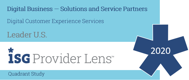 Hexaware Named Leader: Digital Customer Experience Services in the ISG Provider Lens™ Digital Business — Solutions and Service Partners 2020 US Quadrant Study