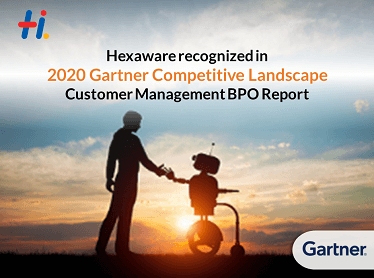 Hexaware Technologies recognized in 2020 Gartner Competitive Landscape: Customer Management BPO Report