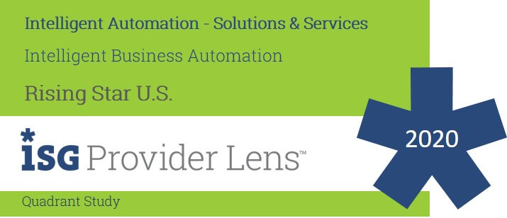 Hexaware Named U.S. Rising Star for Intelligent Business Automation in the ISG Provider Lens™ Intelligent Automation Solutions & Services 2020 US Quadrant Report