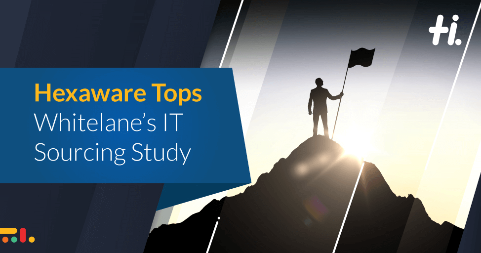 Hexaware tops Whitelane's IT Sourcing Study among the Top Service Providers yet again and ranks No.1 in KPIs across cloud capability, account management quality, business understanding, and contractual flexibility.