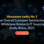 Hexaware ranks No 1 for Overall Customer Satisfaction – Whitelane Research IT Sourcing Study, Belux, 2021